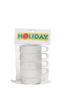 Mepal holiday soepkop set/4 wit